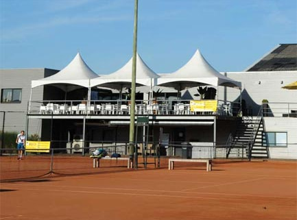 Webwinnaar portfolio websites - Webdesign Tennis en Squashcenter 't Sas