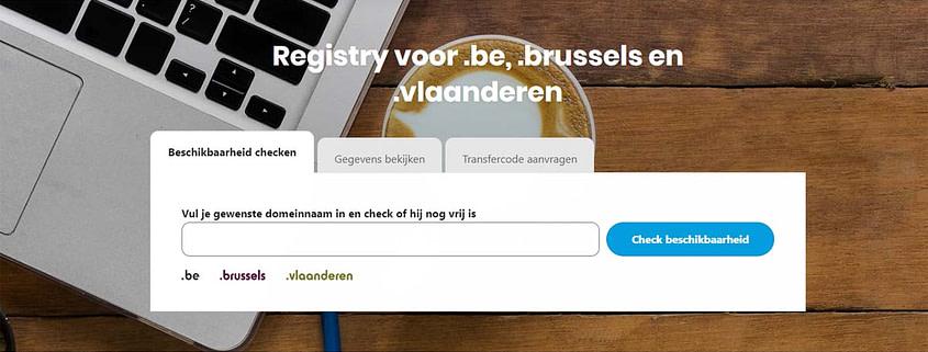 Webwinnaar Webdesign - Domeinnaam vastleggen voor jouw website of webshop